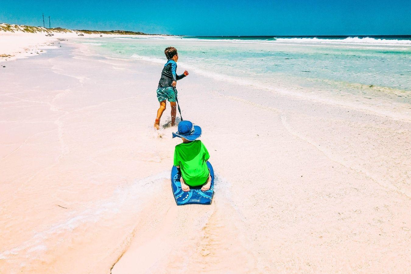 Children-Holidaying-in-Lancelin-Western-Australia